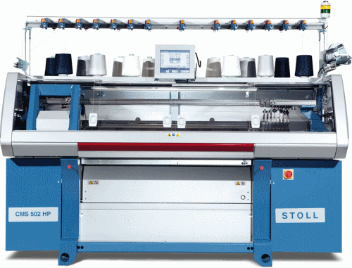 Stoll-CMS 502HP knitting machine