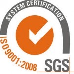 We hold ISO 9001-2008 certification.