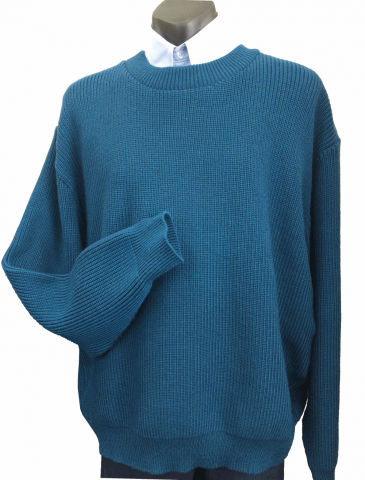 Heavyweight Fisherknit crew neck pullover