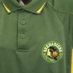 Tastex sportswear in team colours with embroidered logo.