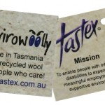 Envirowoolly labels