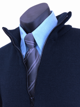 Tastex<sup>®</sup> Pure wool Half Zip Jumper